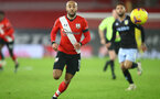 SOUTHAMPTON, ENGLAND - JANUARY 30: Nathan Redmond of Southampton during the Premier League match between Southampton and Aston Villa at St Mary's Stadium on January 30, 2021 in Southampton, England. Sporting stadiums around the UK remain under strict restrictions due to the Coronavirus Pandemic as Government social distancing laws prohibit fans inside venues resulting in games being played behind closed doors. (Photo by Matt Watson/Southampton FC via Getty Images)