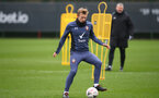 SOUTHAMPTON, ENGLAND - FEBRUARY 09: James Ward-Prowse during a Southampton FC training session at the Staplewood Campus on February 09, 2021 in Southampton, England. (Photo by Matt Watson/Southampton FC via Getty Images)