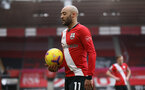 SOUTHAMPTON, ENGLAND - FEBRUARY 14: Nathan Redmond of Southampton during the Premier League match between Southampton and Wolverhampton Wanderers at St Mary's Stadium on February 14, 2021 in Southampton, England. Sporting stadiums around the UK remain under strict restrictions due to the Coronavirus Pandemic as Government social distancing laws prohibit fans inside venues resulting in games being played behind closed doors. (Photo by Matt Watson/Southampton FC via Getty Images)