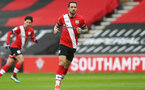 SOUTHAMPTON, ENGLAND - FEBRUARY 20: Danny Ings of Southampton during the Premier League match between Southampton and Chelsea at St Mary's Stadium on February 20, 2021 in Southampton, England. Sporting stadiums around the UK remain under strict restrictions due to the Coronavirus Pandemic as Government social distancing laws prohibit fans inside venues resulting in games being played behind closed doors. (Photo by Matt Watson/Southampton FC via Getty Images)