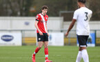 SOUTHAMPTON, ENGLAND - FEBRUARY 21: Will Tizzard of Southampton during Premier League 2 match between Southampton B Team and Derby County U23s at The Snows Stadium on February 21, 2021 in Southampton, England. (Photo by Isabelle Field/Southampton FC via Getty Images)