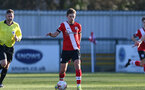 SOUTHAMPTON, ENGLAND - FEBRUARY 27: Sam Bellis of Southampton during Premier League 2 match between Southampton B Team and Manchester United U23s at The Snows Stadium on February 27, 2021 in Southampton, England. (Photo by Isabelle Field/Southampton FC via Getty Images)