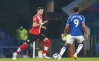 LIVERPOOL, ENGLAND - MARCH 01: Jan Bednarek of Southampton during the Premier League match between Everton and Southampton at Goodison Park on March 01, 2021 in Liverpool, England. Sporting stadiums around the UK remain under strict restrictions due to the Coronavirus Pandemic as Government social distancing laws prohibit fans inside venues resulting in games being played behind closed doors. (Photo by Matt Watson/Southampton FC via Getty Images)