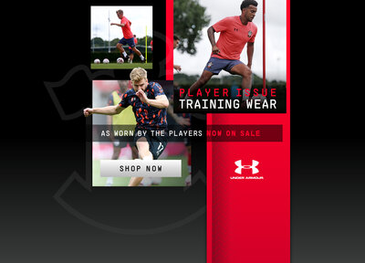 Under Armour player issue training wear now available