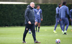 SOUTHAMPTON, ENGLAND - MARCH 12: First Team Coach Kelvin Davis during a Southampton FC training session at the Staplewood Campu on March 12, 2021 in Southampton, England. (Photo by Matt Watson/Southampton FC via Getty Images)
