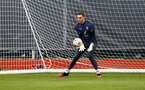SOUTHAMPTON, ENGLAND - MARCH 17: Alex McCarthy during a Southampton FC training session at Staplewood Campus on March 17, 2021 in Southampton, England. (Photo by Matt Watson/Southampton FC via Getty Images)