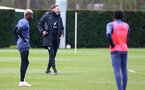 SOUTHAMPTON, ENGLAND - MARCH 17: Southampton manager Ralph Hasenhüttl during a Southampton FC training session at Staplewood Campus on March 17, 2021 in Southampton, England. (Photo by Matt Watson/Southampton FC via Getty Images)