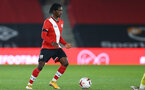 SOUTHAMPTON, ENGLAND - MARCH 23: Zuriel Otseh-Taiwo of Southampton during the FA Youth Cup fourth round match between Southampton and Burton Albion at St Mary's Stadium on March 23, 2021 in Southampton, England. (Photo by Isabelle Field/Southampton FC via Getty Images)