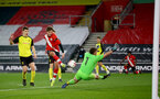 SOUTHAMPTON, ENGLAND - MARCH 23: Sam Bellis of Southampton during the FA Youth Cup fourth round match between Southampton and Burton Albion at St Mary's Stadium on March 23, 2021 in Southampton, England. (Photo by Isabelle Field/Southampton FC via Getty Images)