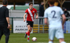 SOUTHAMPTON, ENGLAND - MARCH 27: Will Tizzard of Southampton during the Premier League U18s match between Southampton U18 and  Chelsea at Snows Stadium on March 27, 2021 in Southampton, England. (Photo by Isabelle Field/Southamtpon FC)