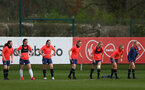 SOUTHAMPTON, ENGLAND - April 01:  during Southampton Women's training session at Staplewood Complex on April 01, 2021 in Southampton, England.  (Photo by Isabelle Field/Southampton FC via Getty Images)