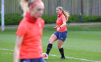 SOUTHAMPTON, ENGLAND - April 01: Cattlin Morris during Southampton Women's training session at Staplewood Complex on April 01, 2021 in Southampton, England.  (Photo by Isabelle Field/Southampton FC via Getty Images)