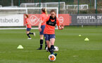 SOUTHAMPTON, ENGLAND - April 01: Rachel Panting during Southampton Women's training session at Staplewood Complex on April 01, 2021 in Southampton, England.  (Photo by Isabelle Field/Southampton FC via Getty Images)
