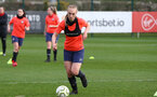 SOUTHAMPTON, ENGLAND - April 01: Rosie Parnell during Southampton Women's training session at Staplewood Complex on April 01, 2021 in Southampton, England.  (Photo by Isabelle Field/Southampton FC via Getty Images)