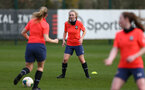 SOUTHAMPTON, ENGLAND - April 01: Kelly Snook during Southampton Women's training session at Staplewood Complex on April 01, 2021 in Southampton, England.  (Photo by Isabelle Field/Southampton FC via Getty Images)