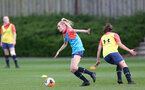 SOUTHAMPTON, ENGLAND - April 01: Phoebe Williams during Southampton Women's training session at Staplewood Complex on April 01, 2021 in Southampton, England.  (Photo by Isabelle Field/Southampton FC via Getty Images)