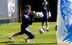 SOUTHAMPTON, ENGLAND - APRIL 02: Fraser Forster during a Southampton FC training session at the Staplewood Campus on April 02, 2021 in Southampton, England. (Photo by Matt Watson/Southampton FC via Getty Images)