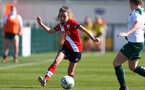 SOUTHAMPTON, ENGLAND - APRIL 04: Sophia Pharoah of Southampton during the Vitality Women's FA Cup second round match between Southampton Women and Plymouth Argyle Women at The Snows Stadium on April 04, 2021 in Southampton, England. (Photo by Isabelle Field/Southampton FC via Getty Images)