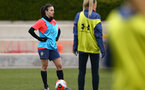 SOUTHAMPTON, ENGLAND - OCTOBER 21: Laura De Silva during Southampton Women's training session at Staplewood Complex on October 21, 2020 in Southampton, England. (Photo by Isabelle Field/Southampton FC via Getty Images)