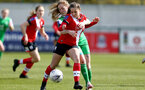 SOUTHAMPTON, ENGLAND - APRIL 11: Georgie Freeland of Southampton during the Vitality Women's FA Cup third round match between Southampton Women and Yeovil United Women at The Snows Stadium on April 11, 2021 in Southampton, England. (Photo by Isabelle Field/Southampton FC via Getty Images)