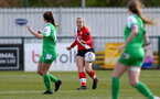 SOUTHAMPTON, ENGLAND - APRIL 11: Cattlin Morris of Southampton during the Vitality Women's FA Cup third round match between Southampton Women and Yeovil United Women at The Snows Stadium on April 11, 2021 in Southampton, England. (Photo by Isabelle Field/Southampton FC via Getty Images)