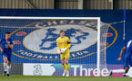 KINGSTON UPON THAMES, LONDON, ENGLAND - APRIL 12: Jack Bycroft  of Southampton during the Premier League 2 match between U23 Chelsea FC and Southampton B Team at the Kingsmeadow Stadium on April 12, 2021 in Kingston upon Thames, London, England.  (Photo by Isabelle Field/Southampton FC via Getty Images)