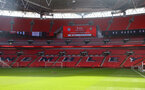 LONDON, ENGLAND - APRIL 18: A general view ahead of the Semi Final of the Emirates FA Cup match between Leicester City and Southampton FC at Wembley Stadium on April 18, 2021 in London, England. 4000 local residents have been permitted to attend the match as part of the government's Events Research Programme, which will study how to safely hold major events once coronavirus lockdown measures are eased. Other sporting events around the United Kingdom continue to be played behind closed doors. (Photo by Matt Watson/Southampton FC via Getty Images)
