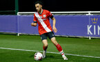 LEICESTER, ENGLAND - APRIL 19: Jayden Smith of Southampton during the Premier League 2 match between Leicester City and Southampton B Team at the Leicester City Training Ground on April 19, 2021 in Leicester, England.  (Photo by Isabelle Field/Southampton FC via Getty Images)
