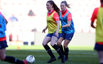 SOUTHAMPTON, ENGLAND - April 22: Chloe Gilroy during Southampton Women's training session at St Mary's Stadium on April 22, 2021 in Southampton, England.  (Photo by Isabelle Field/Southampton FC via Getty Images)