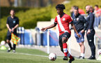 SOUTHAMPTON, ENGLAND - APRIL 24: Josh Lett of Southampton during the Premier League U18s match between Southampton U18 and West Bromwich Albion at Staplewood Campus on April 24, 2021 in Southampton, England. (Photo by Isabelle Field/Southampton FC via Getty Images)