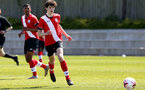 SOUTHAMPTON, ENGLAND - APRIL 24: Riley Wright of Southampton during the Premier League U18s match between Southampton U18 and West Bromwich Albion at Staplewood Campus on April 24, 2021 in Southampton, England. (Photo by Isabelle Field/Southampton FC via Getty Images)
