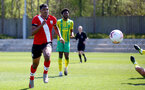 SOUTHAMPTON, ENGLAND - APRIL 24: Jeremi Rodriguez of Southampton during the Premier League U18s match between Southampton U18 and West Bromwich Albion at Staplewood Campus on April 24, 2021 in Southampton, England. (Photo by Isabelle Field/Southampton FC via Getty Images)