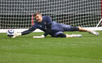 SOUTHAMPTON, ENGLAND - APRIL 28: Fraser Forster during a Southampton FC training session at the Staplewood Campus on April 28, 2021 in Southampton, England. (Photo by Matt Watson/Southampton FC via Getty Images)