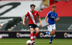 SOUTHAMPTON, ENGLAND - MAY 02: Ethan Burnett  of Southampton during the Premier League 2 match between Southampton B Team and Everton at the St Mayr's Stadium on May 02, 2021 in Southampton, England.  (Photo by Isabelle Field/Southampton FC via Getty Images)
