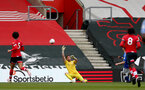 SOUTHAMPTON, ENGLAND - MAY 02: Harry Lewis of Southampton during the Premier League 2 match between Southampton B Team and Everton at the St Mayr's Stadium on May 02, 2021 in Southampton, England.  (Photo by Isabelle Field/Southampton FC via Getty Images)