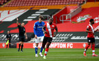SOUTHAMPTON, ENGLAND - MAY 02: Michael Obafemi of Southampton during the Premier League 2 match between Southampton B Team and Everton at the St Mayr's Stadium on May 02, 2021 in Southampton, England.  (Photo by Isabelle Field/Southampton FC via Getty Images)