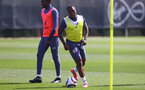 SOUTHAMPTON, ENGLAND - MAY 04: Michael Obafemi during a Southampton FC training session at the Staplewood Campus on May 04, 2021 in Southampton, England. (Photo by Matt Watson/Southampton FC via Getty Images)