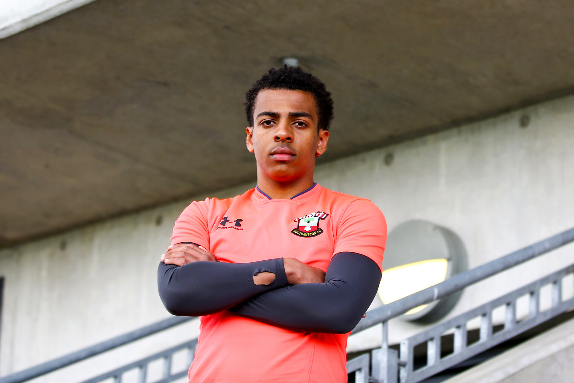 SOUTHAMPTON, ENGLAND - MAY 05: Caleb Watts photographed at Staplewood Training Ground on May 05 2021 in Southampton, England. (Photo by Isabelle Field/Southampton FC via Getty Images)