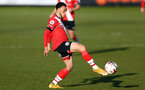 SOUTHPORT, ENGLAND - MAY 07: Jayden Smith of Southampton during the Premier League 2 match between Everton and Southampton B Team at the The Pure Stadium on May 07, 2021 in Southport, England.  (Photo by Isabelle Field/Southampton FC via Getty Images)