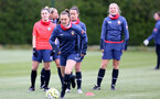 SOUTHAMPTON, ENGLAND - MAY 12: Chloe Gilroy during Southampton Women's training session at Staplewood Training Ground on May 12, 2021 in Southampton, England.  (Photo by Isabelle Field/Southampton FC via Getty Images)
