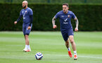 SOUTHAMPTON, ENGLAND - MAY 17: Danny Ings during a Southampton FC training session at the Staplewood Campus on May 17, 2021 in Southampton, England. (Photo by Matt Watson/Southampton FC via Getty Images)