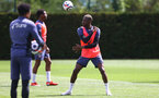 SOUTHAMPTON, ENGLAND - MAY 17: Moussa Djenepo during a Southampton FC training session at the Staplewood Campus on May 17, 2021 in Southampton, England. (Photo by Matt Watson/Southampton FC via Getty Images)