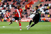 Saints beaten as fans return to St Mary's