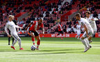SOUTHAMPTON, ENGLAND - MAY 18: Theo Walcott of Southampton during the Premier League match between Southampton and Leeds United at St Mary's Stadium on May 18, 2021 in Southampton, England. (Photo by Matt Watson/Southampton FC via Getty Images)