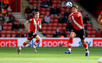 SOUTHAMPTON, ENGLAND - MAY 18: Jannik Vestergaard of during the Premier League match between Southampton and Leeds United at St Mary's Stadium on May 18, 2021 in Southampton, England. (Photo by Matt Watson/Southampton FC via Getty Images)