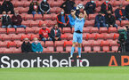 SOUTHAMPTON, ENGLAND - MAY 18: Alex McCarthy of Southampton during the Premier League match between Southampton and Leeds United at St Mary's Stadium on May 18, 2021 in Southampton, England. (Photo by Matt Watson/Southampton FC via Getty Images)