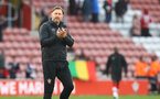 SOUTHAMPTON, ENGLAND - MAY 18: Southampton manager Ralph Hasenhüttl during the Premier League match between Southampton and Leeds United at St Mary's Stadium on May 18, 2021 in Southampton, England. (Photo by Matt Watson/Southampton FC via Getty Images)