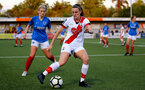 HAVANT, ENGLAND - MAY 19: Ella Pusey of Southampton during the Hampshire FA Women's Senior Cup Final against Portsmouth Women and Southampton Women at Westleigh Park on May 19, 2021 in Havant, England. (Photo by Isabelle Field/Southampton FC via Getty Images)