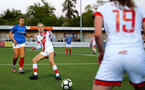 HAVANT, ENGLAND - MAY 19: Phoebe Williams of Southampton during the Hampshire FA Women's Senior Cup Final against Portsmouth Women and Southampton Women at Westleigh Park on May 19, 2021 in Havant, England. (Photo by Isabelle Field/Southampton FC via Getty Images)