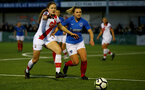HAVANT, ENGLAND - MAY 19: Lucia Kendall(L) of Southampton during the Hampshire FA Women's Senior Cup Final against Portsmouth Women and Southampton Women at Westleigh Park on May 19, 2021 in Havant, England. (Photo by Isabelle Field/Southampton FC via Getty Images)